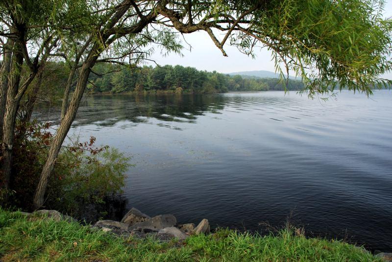 Lake Nockamixen by the Fishing Pier